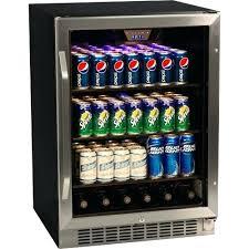 glass front fridge. Glass Front Beverage Cooler Small Refrigerator Inspirational Can Door Stainless Steel Fridge