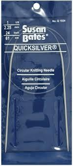 Knitpro circular knitting needle zing aluminum colourful coated 2 00 12mm 8 00mm 150cm. Susan Bates Q1936 10 5 36 Inch Quicksilver Circular Knitting Needle 6 5mm Mimbarschool Com Ng