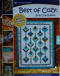 Amazon.com: Trade Winds Tradewinds Quilt Pattern, Jelly Roll 2.5 ... & Quilt Book, Best of Cozy, Strip Club Edition, by Daniela Stout and Georgette Adamdwight.com