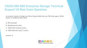Technical Support Questions Examgood Examgood C9020 568 Ibm Storage Technical Support V5 Exam