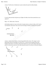 Chapter 16 Light Study Guide Ncert Solutions For Class 8 Science Chapter 16 Crop