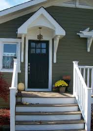 cottage style front doorsfront door of Londens Craftsman style cottage  Hooked on Houses