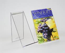 Book Stands For Display New Clear Plastic Book Holders Displays PETG Book Displays
