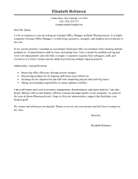 administrative cover letter examples livecareer edit