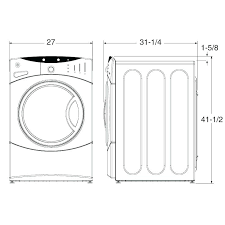 Washer And Dryer Sizes Chart Washer Dryer Width Sk8ergirl Co