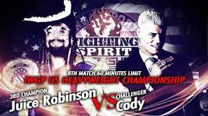 Juice Robinson vs Cody - IWGP US Championship match - Trailer ...