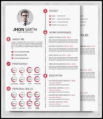 Resume Portfolio Template Best Professional Resume Templates Psd Ai