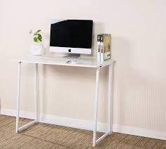 by design ideas folding computer desk cherrytree furniture compact flip flop home