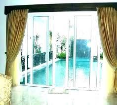 double sliding glass doors sliding curtain rods pictures of curtains on sliding glass doors curtain rod