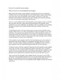 Free Cv Template Master Bundles Resume Templates To Print