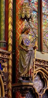 sainte chapelle a royal medieval gothic chapel located near the palais de la chapelle de la sorbonne chappelle de la