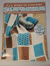 Leisure Arts 3916 63 CROCHET PATTERN STITCHES 1997 26pg booklet Darla Sims  | eBay