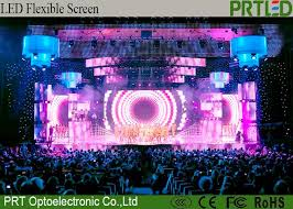p10 416 outdoor led curtain screen full color advertising led display screen