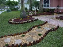 Garden decorating ideas with stones