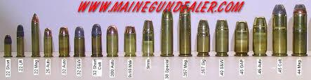 10 Scientific Pistol Ammunition Comparison Chart