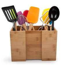 ... Core Bamboo Expandable Utensil Holder In Use ...