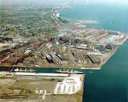 gary works steel mill former us steel south works site chicago illinois
