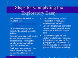exploratory essay example preterm birth causes consequences steps for completing the exploratory essay