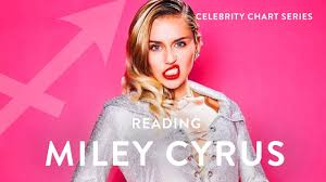 Miley Cyrus Album Charts Miley Cyrus Astrology Chart Celebrity Chart Readings