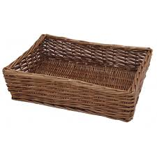 office storage baskets. Rattan Baskets For Your Interior Storage Design: Rectangular Wicker Traditional Home Office U