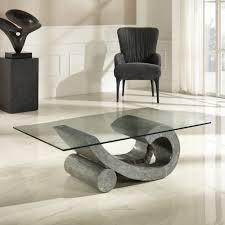 Tables Basses En Pierre Fossile Et Naturelle Table Basse De Salon Ovale Pierres