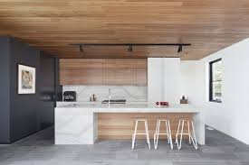contemporary track lighting kitchen. Gallery Of Stepping House Bower Architecture 13 Contemporary Track Lighting Kitchen