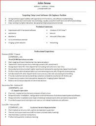 Entry Level Quality Engineer Resume. Quality Assurance Resume Sample