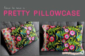 Free Pillowcase Pattern Gorgeous Angela's Pillowcase Pattern Craftsy