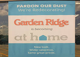 garden ridge scrubs. garden ridge rebranding sign scrubs