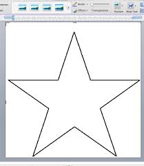 printable star different size star templates oyle kalakaari co