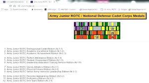 Army Jrotc Ribbon Chart Rack Builder Ribbon Rack Builder Military Navy Air Force