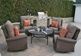 giovanna luxury all weather wicker cast aluminum patio furniture deep seating set