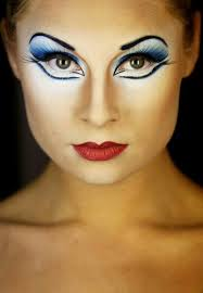 carnival makeup eyes red lips lifestyle