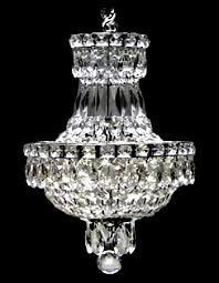 crystal pieces to create charming copies of much more expensive crystal chandeliers they are ontly dressed you will not be disappointed