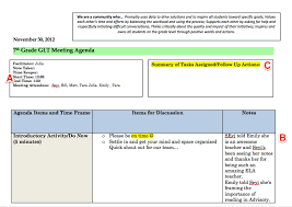 level 10 meeting template grade level meeting minutes template dzeo tk