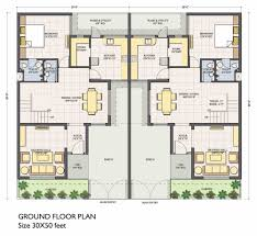 30 30 house plans plan for feet by plot size square yards 30 50 with 30 x 50 home