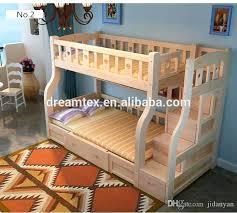 kids wooden bunk beds children beds hot new design solid wood bunk bed for kid