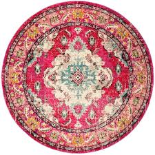 round pink rugs for nursery pink round rug ikea this review is frommonaco pink multi 9 ft x 9 ft round area rug small round pink rugs