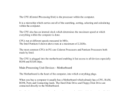 the cpu central processing unit is the processor in the document image preview