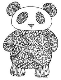 Small Picture Coloring Page Coloring Pages Of Pandas Coloring Page and