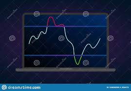 Technical Analysis Charts For Cryptocurrency Rsi Indicator Technical Analysis Vector Stock And
