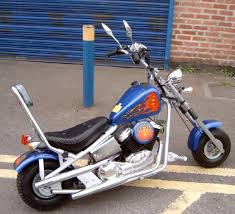 harley davidson style mini chopper bike