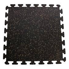 Interlocking Rubber Floor Tiles Kitchen Mats Inc Interlocking Floor Recycled Rubber Tiles Reviews Wayfair