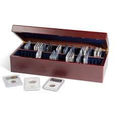 coin case for 50 certified coin holders slabs