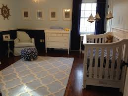 navy blue rugs for nursery 24280