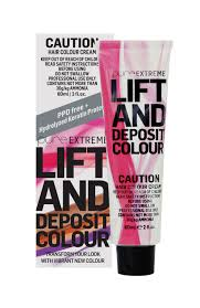 Hairjamm Colour Chart Pure Extreme Is A Ppd Free Lift And Deposit Colour An