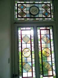 stained glass decals decorative stained glass wall decals