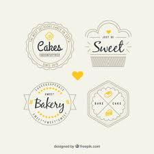 Retro Bakery Logos Pack Vector Premium Download