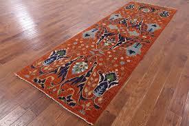 4 x 12 runner fine serapi handmade wool rug mediterranean hall and stair runners by manhattan rugs