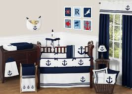 navy blue nautical sail boat themed